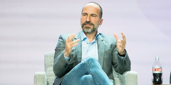 Uber's CEO says he never sought the job, and that encapsulates his best advice for young people: Don't overplan your life
