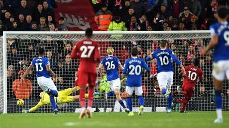 Liverpool 5-2 Everton: Sadio Mane shines as rampant Reds extend unbeaten Premier League run to 32 games