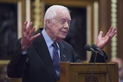 Former President Jimmy Carter recovering after fall