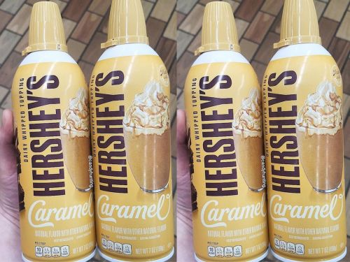 Hershey's is now selling caramel-flavored whipped cream