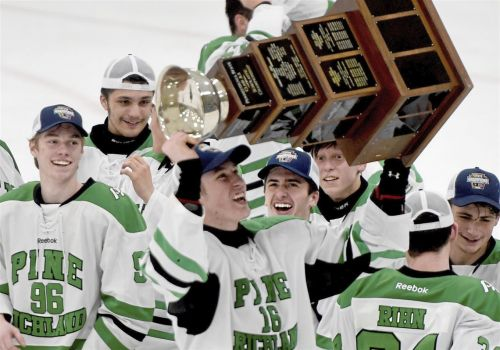 Jordan Yoklic experiences state hockey title as player and coach at Pine-Richland