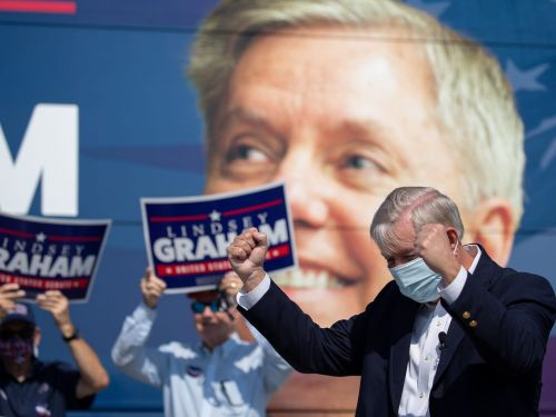 A mysterious conservative super PAC trashing Lindsey Graham in South Carolina may be Democrats in disguise