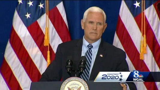 Vice President Pence hosts rally in Cumberland County