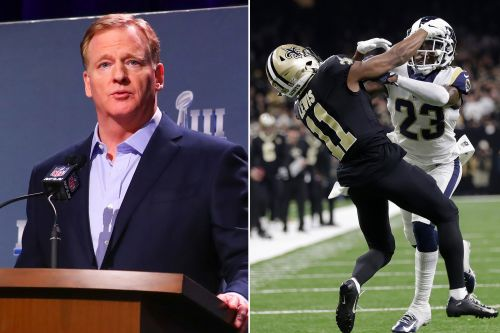 Roger Goodell ordered to testify over Rams-Saints no-call