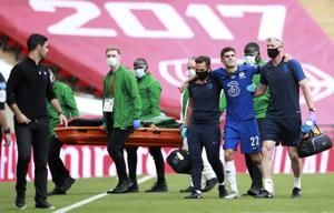 Pulisic pain: Injury after scoring in first FA Cup final