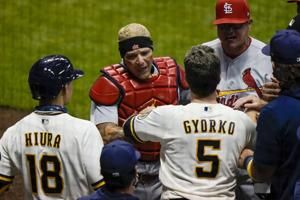 Cardinals manager Mike Shildt suspended after benches-clearing incident against Brewers