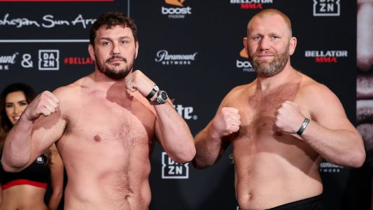 Sergei Kharitonov TKOs Matt Mitrione to cap 100-percent finish night at Bellator 225