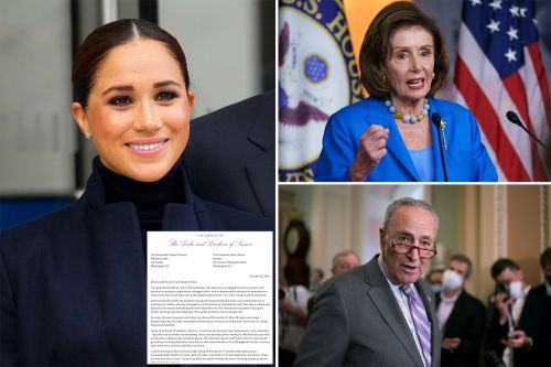 Meghan Markle pushes paid parental leave in letter to Schumer, Pelosi