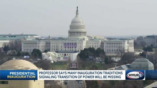 Many inauguration traditions signaling transition of power will be missing this week