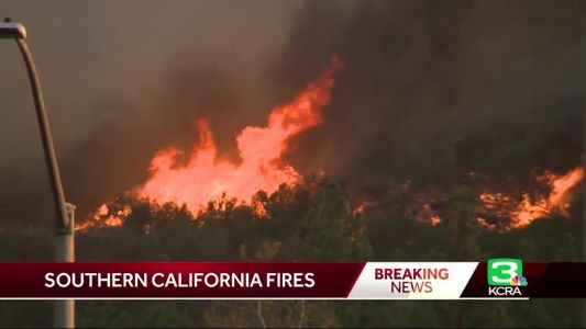 Winds again fan Southern Californian wildfire that killed 2
