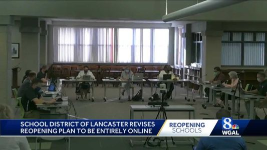 No in-class learning for Lancaster students to start this school year