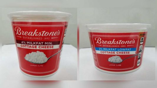 9,500 cases of cottage cheese recalled due to potential plastic and metal contaminants, FDA says