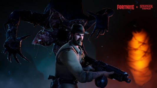 'Fortnite's' crossover with 'Stranger Things' adds Demogorgon and Chief Hopper outfits