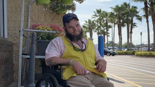 'My Whole Life Is On Hold': As Walmart Eliminates Greeters, A Dream In Limbo
