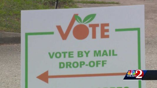 Central Florida woman in labor makes husband stop at elections office to cast her vote