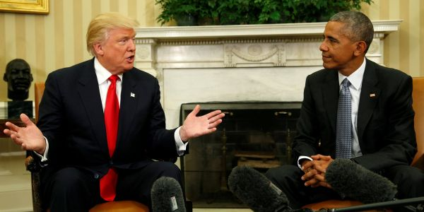 Trump boasts the US economy is the best it's ever been under his watch. Here are 9 charts showing how it compares to the Obama and Bush presidencies