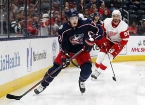 Blue Jackets rally in third, beat Red Wings 5-4
