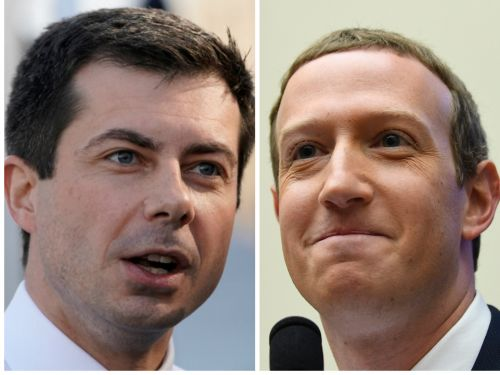 Pete Buttigieg said his buddy Mark Zuckerberg had too much power and called a social network like Facebook 'a natural monopoly'