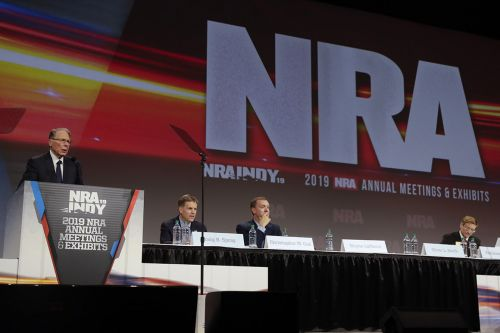 Rival gun groups look to fill the NRA's void