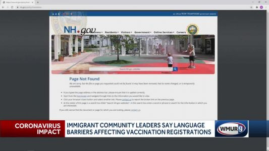 Immigrant advocates say language barriers affect vaccination registrations