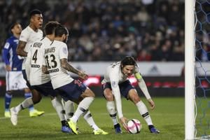 Substitute Mbappe galvanizes PSG in 1-1 draw at Strasbourg