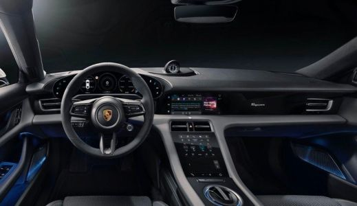 Porsche adds Apple Music lyrics and Apple Podcasts to its electric Taycan