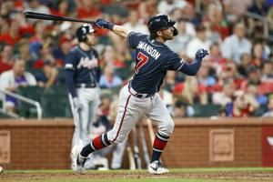Swanson homers twice as Braves beat Cardinals 5-2