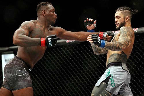 Down to fight in two weeks, Ovince Saint Preux says 'hell yeah' to a rematch with Jimi Manuwa