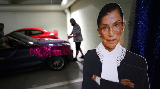 From 'SNL' To Workout Videos, How RBG Became A Pop Culture Icon