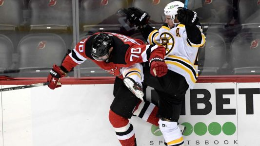 Bruins fall to Devils in final seconds of overtime