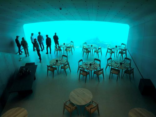 Norway opens Europe's first underwater restaurant and it looks incredible