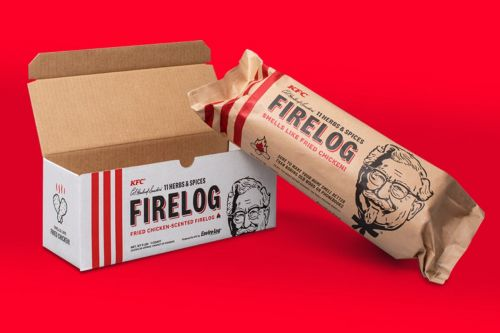 KFC is bringing back its popular fireplace logs that smell like fried chicken and have sold out 2 years running - here's how to get one