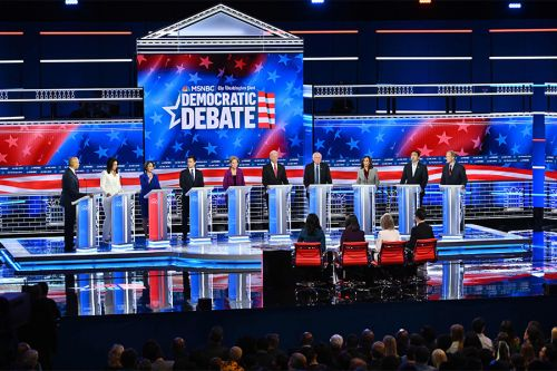 Democratic debates: Snoozefest has top 4 running in place as other 6 feebly jab