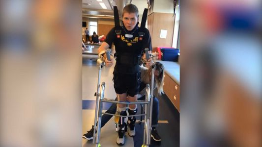 From paralyzed to walking valedictorian