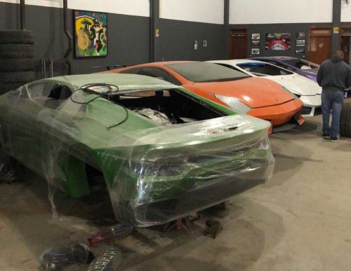 Phony Ferraris, 'Shamborghinis' seized at Brazil factory