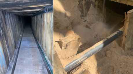 'Most sophisticated tunnel in US history'? ICE uncovers 400m smuggling railway under Arizona-Mexico border