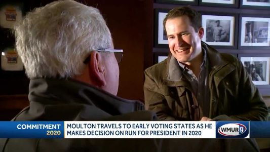 Moulton travels to early-voting states as he weighs run for president in 2020