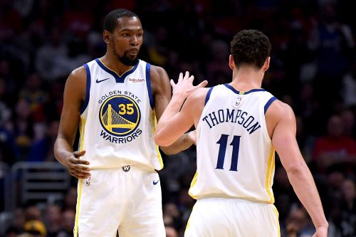 Kevin Durant's Warriors clue: Talks 'unfinished business' with Klay Thompson