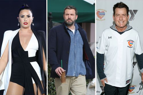 Demi Lovato, Ben Affleck and Charlie Sheen are just some of the stars who've gotten sober