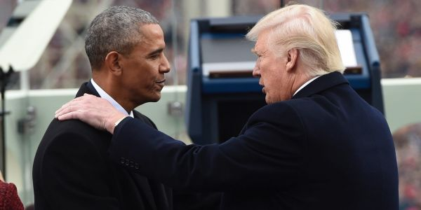 Trump says he wouldn't urge Obama to resign if their roles were reversed during the COVID-19 disaster