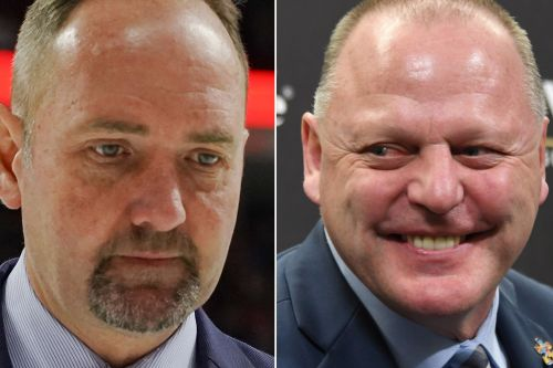 Gerard Gallant rips 'clown' Peter DeBoer before Sharks-Knights Game 7
