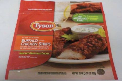 Tyson recalls more than 69,000 pounds of frozen chicken strips