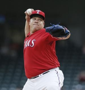 Record-setting Colon wins again as Rangers top D-backs 5-3