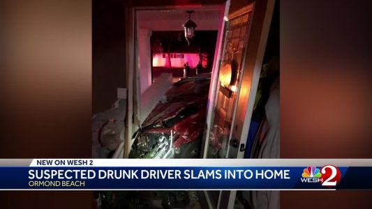 Man accused of driving drunk crashes into Ormond Beach home, police say