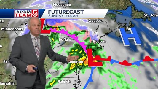 Video: Sunny, dry Saturday ahead of wet, rainy Sunday