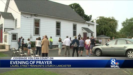 Community gathers at Lancaster church after police fatally shot man