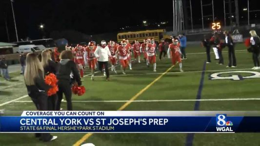 Central York plays in first-ever state final