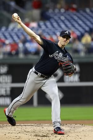 Albies goes deep, McCarthy and Braves beat Phillies 3-1