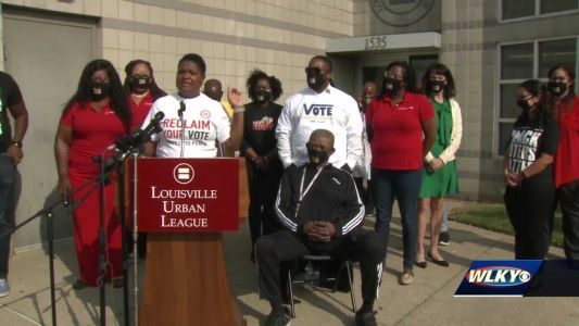 Louisville Urban League, local organizations work to register, turn out Black voters