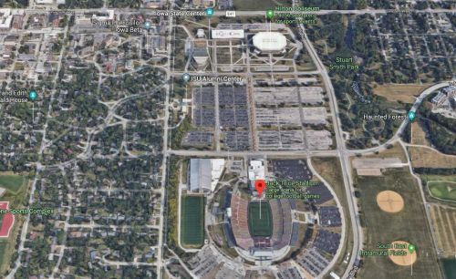 ISU studying development plan that would alter game day parking